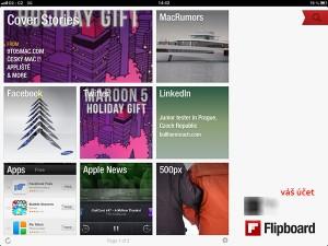 Aplikace Flipboard