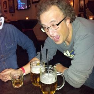 Hard Rock Cafe pivo s brčkem
