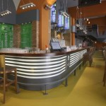 potrefená husa interier bar