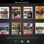 Mobilní aplikace Publero pro iPad