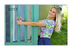 Fotokalendáře HappyFotto, dívka