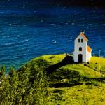 Iceland kostelík v NP þingvellir